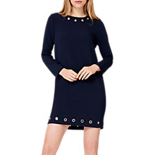 Buy Damsel in a Dress Lotty Eyelet Dress, Navy Online at johnlewis.com