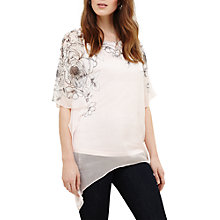 Buy Phase Eight Ivana Silk Floral Blouse, Soft Pink Online at johnlewis.com