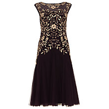 Buy Phase Eight Ariel Embellished Dress, Fig Online at johnlewis.com