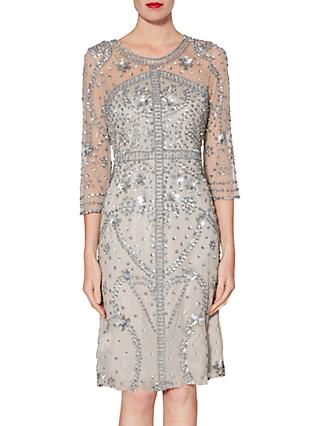 Gina Bacconi Mariella Beaded Dress