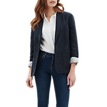 Buy Jaeger Linen Blazer Online at johnlewis.com