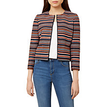 Buy Hobbs Tammi Jacket, Navy/Multi Online at johnlewis.com