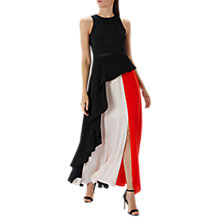 Buy Coast Piper Colourblock Maxi Dress, Multi Online at johnlewis.com