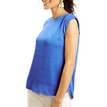 Buy Fenn Wright Manson Corfu Top, Royal Blue Online at johnlewis.com