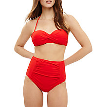 Buy Phase Eight Shelly Bikini Top, Scarlet Online at johnlewis.com