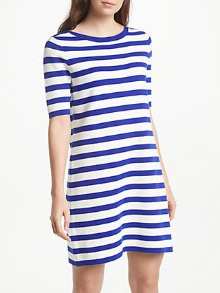 Winser London Striped Cotton Shift Dress