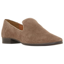 Buy Dune Galia Loafers, Stone Suede Online at johnlewis.com