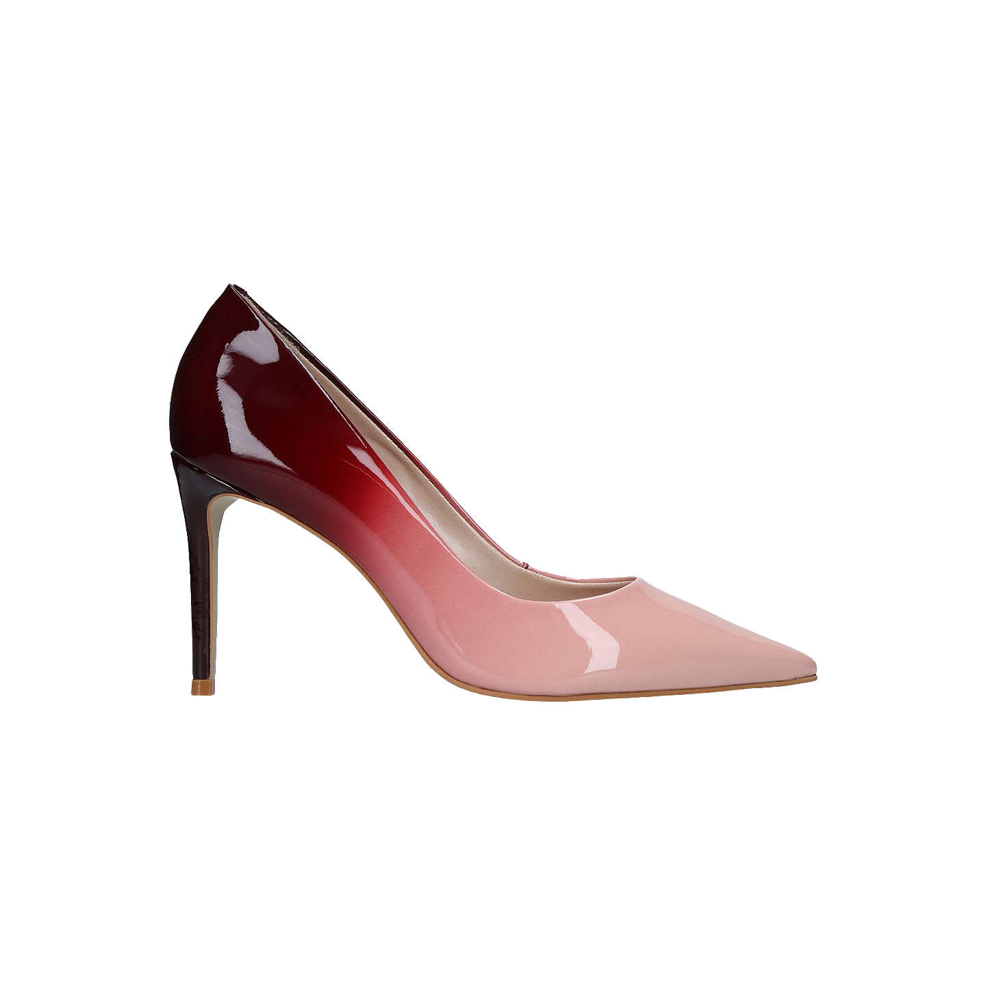 BuyCarvela Alison Pointed Toe Stiletto Court Shoes, Pale Pink, 5 Online at  johnlewis.