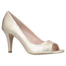 Buy Carvela Libby Stiletto Court Shoes, Gold Online at johnlewis.com