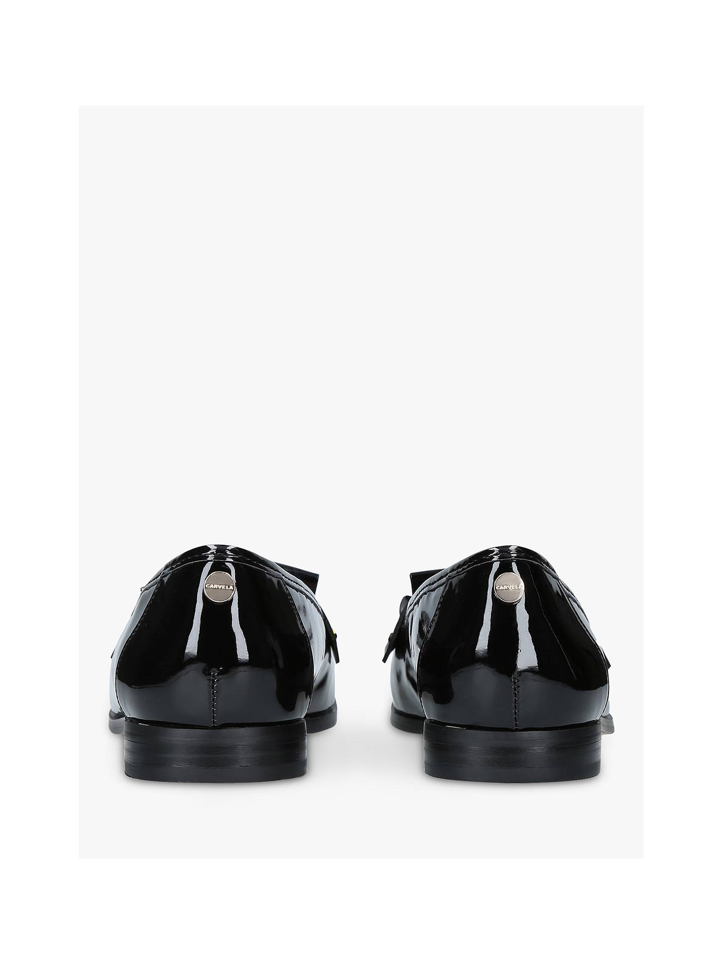 limited quantity sale online official store Carvela Magpie Tassel Loafers, Black at John Lewis & Partners