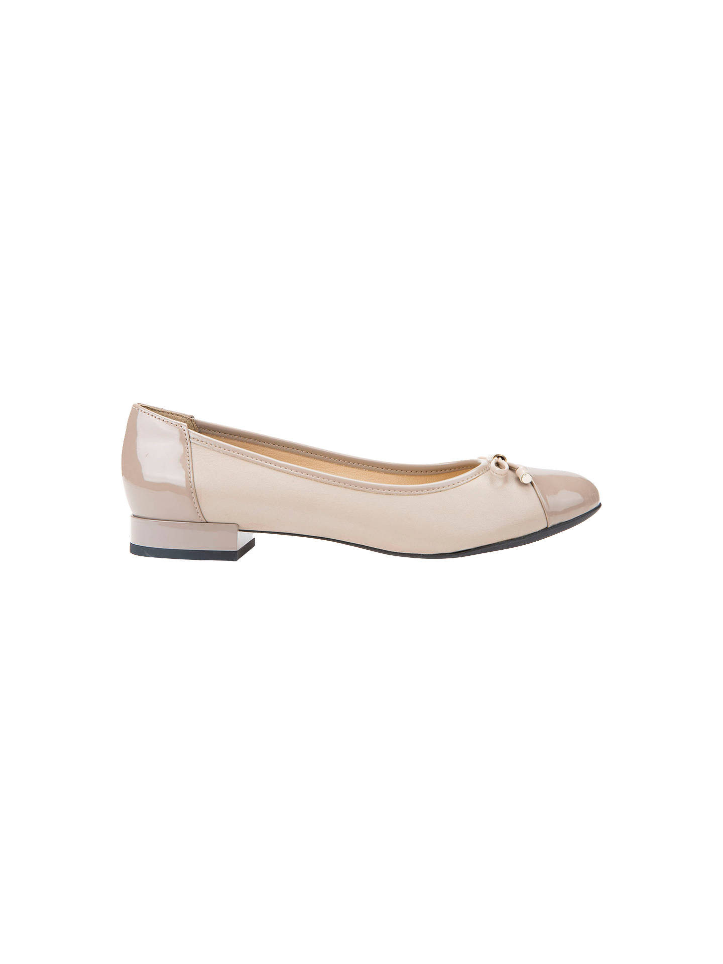 Geox Women's Wistrey Breathable Ballet Pumps at John Lewis