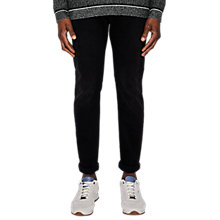Buy Ted Baker Trimpa Tapered Jeans, Mid Wash Online at johnlewis.com