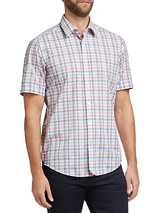 BOSS Luka Short Sleeve Check Shirt