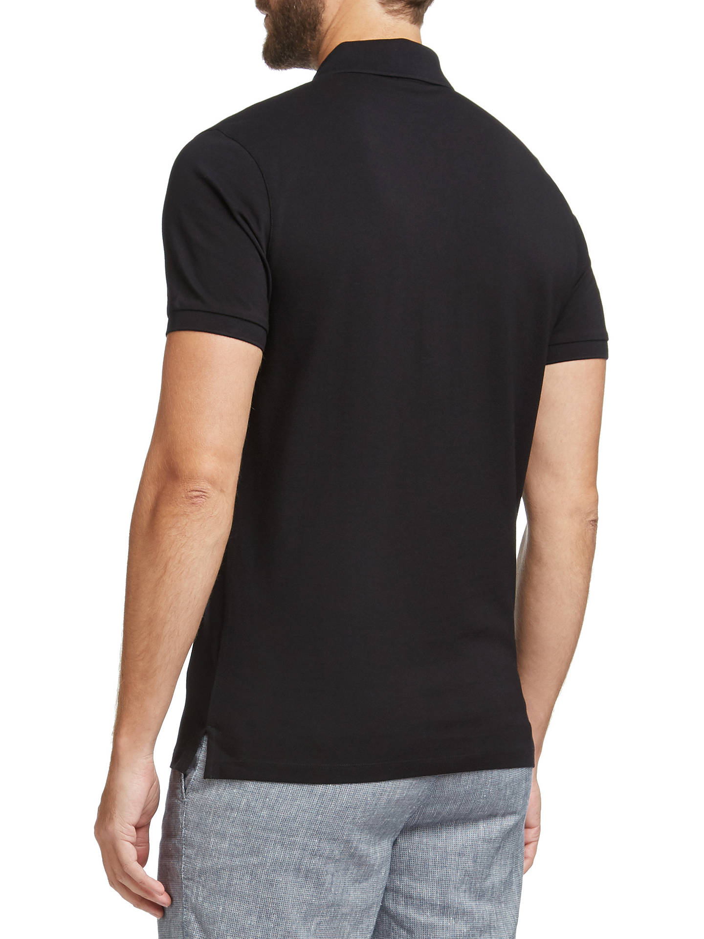 BuyBOSS Pallas Regular Fit Polo Shirt, Black, S Online at johnlewis.com