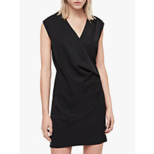 Buy AllSaints Callie Dress, Black Online at johnlewis.com