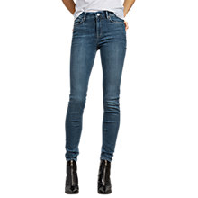 Buy AllSaints Grace Vintage Jeans, Dark Indigo Blue Online at johnlewis.com