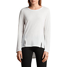Buy AllSaints Nadia Long Sleeve T-Shirt Online at johnlewis.com