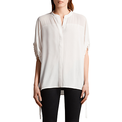 AllSaints Arlesa Shirt, Chalk White