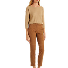 Buy Gerard Darel Suede Trousers, Brown Online at johnlewis.com