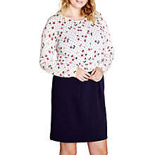 Buy Yumi Curves Spot Print Cardigan, Ivory Online at johnlewis.com