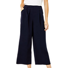Buy Warehouse Soft Pleated Culottes Online at johnlewis.com
