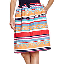 Buy Yumi Colourful Stripe Skirt, Multi Online at johnlewis.com