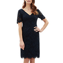 Buy Jaeger Plain Lace Dress Online at johnlewis.com