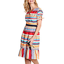 Buy Yumi Colourful Stripe Dress, Multi Online at johnlewis.com