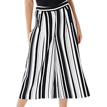 Buy Coast Demi Stripe Trousers, Black/White Online at johnlewis.com
