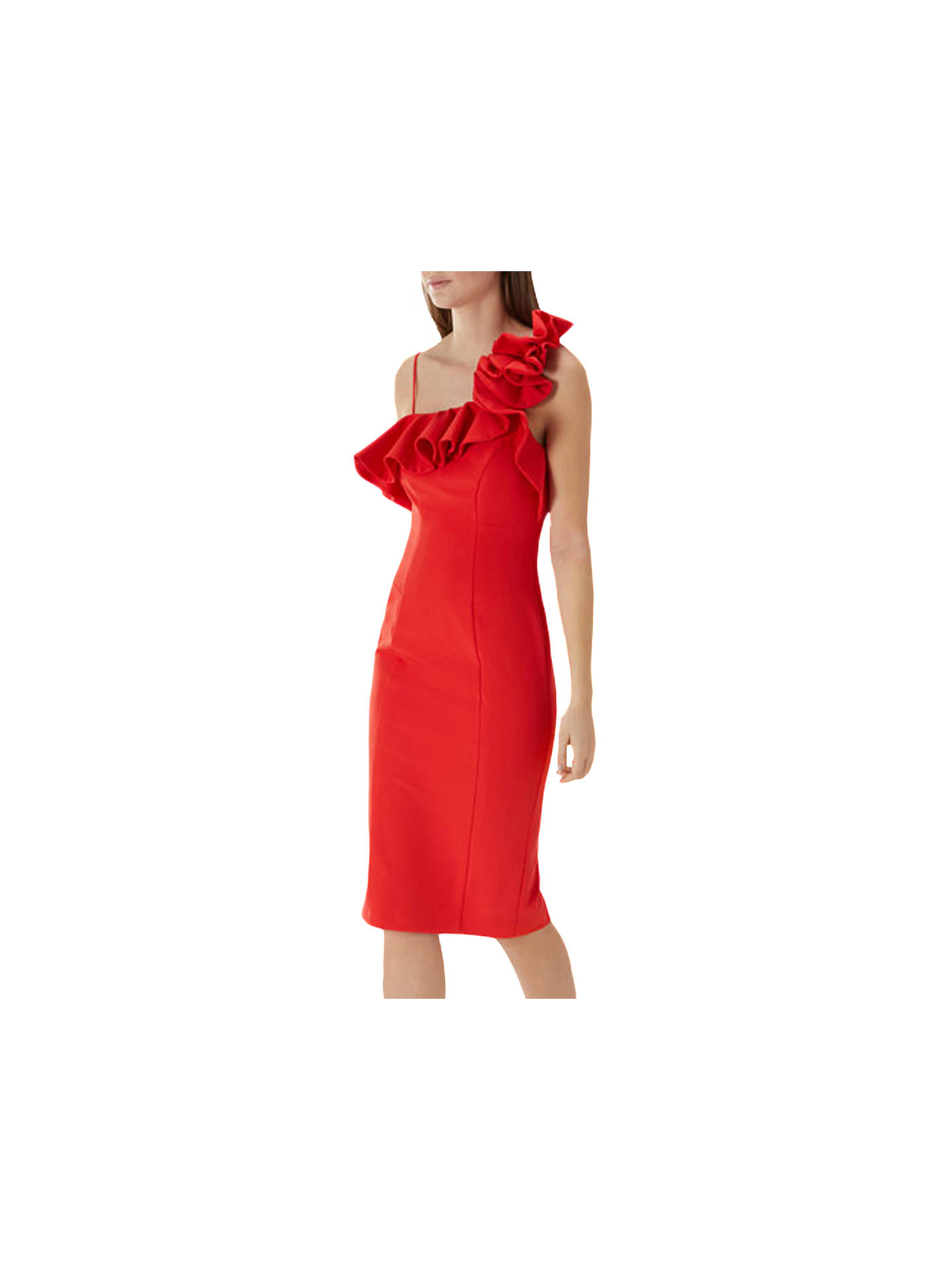 Ruffle Shift Dress