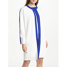 Buy Winser London Pure Cotton Coat, Soft White/Winser Blue Online at johnlewis.com