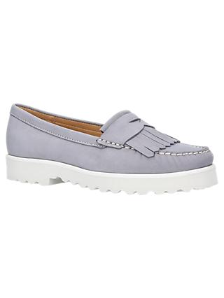 Carvela Comfort Christina Loafers, Grey Nubuck