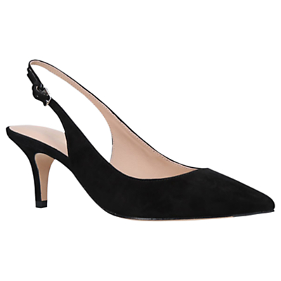 Kurt Geiger Cavendish Pointed Toe Slingback Court Shoes