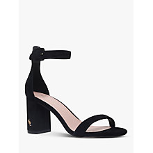 Buy Kurt Geiger Langley Block Heel Sandals Online at johnlewis.com