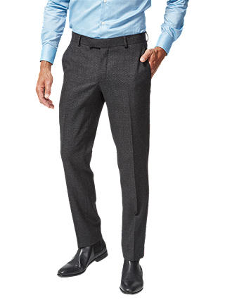 Buy Richard James Mayfair Wool Flannel Suit Trousers, Charcoal, 32S Online at johnlewis.com