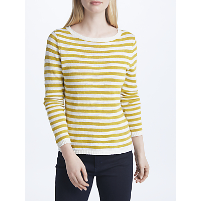 Seasalt Goosander Jumper, Yellow/Multi