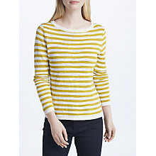 Buy Seasalt Goosander Jumper, Yellow/Multi Online at johnlewis.com