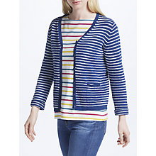 Buy Seasalt Imperial Cardigan, Cruise Ecru Marine Online at johnlewis.com