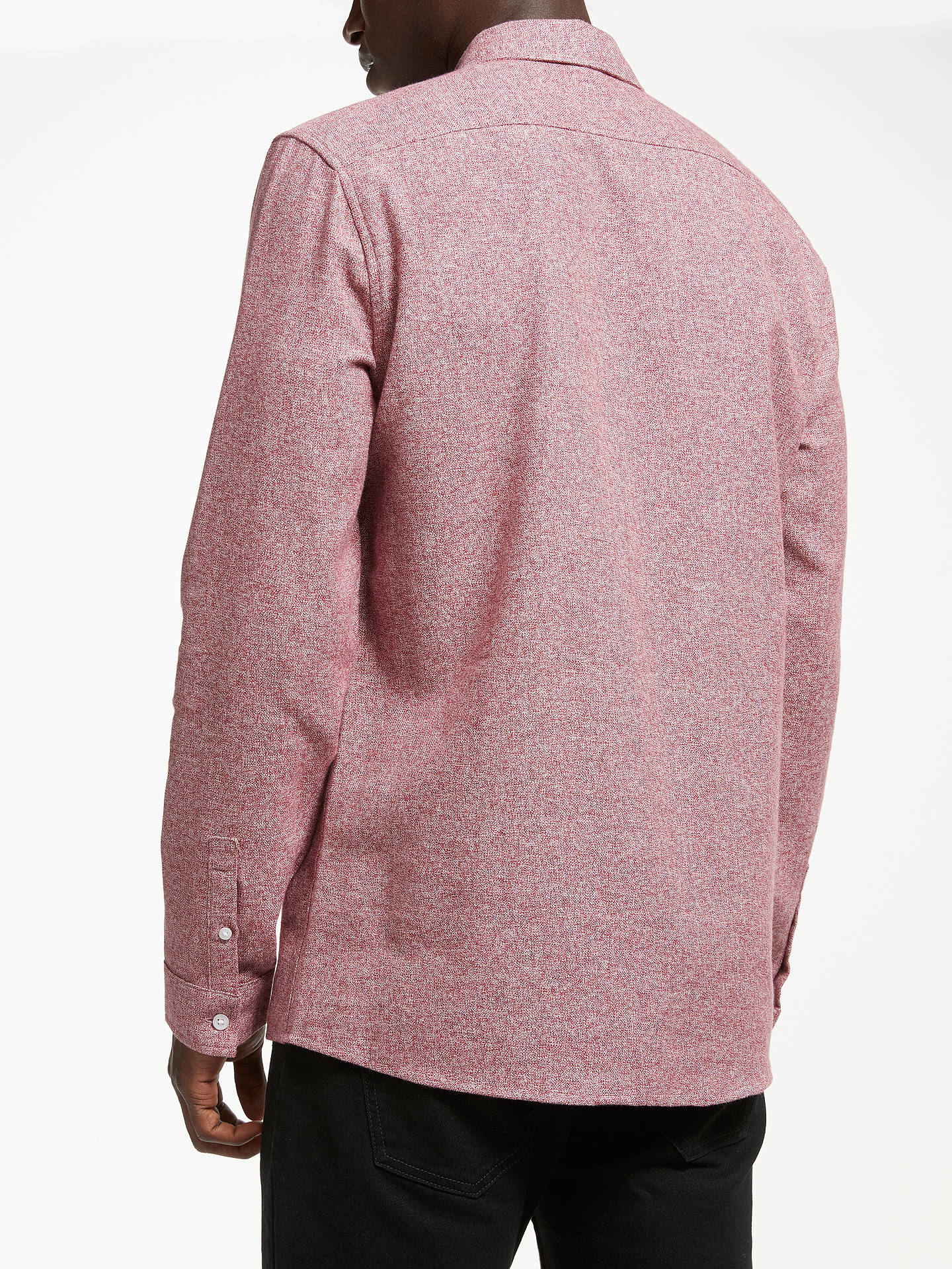 d0e75e2ef ... Buy Kin Compact Berry Grindle Shirt, Burgundy, S Online at  johnlewis.com ...