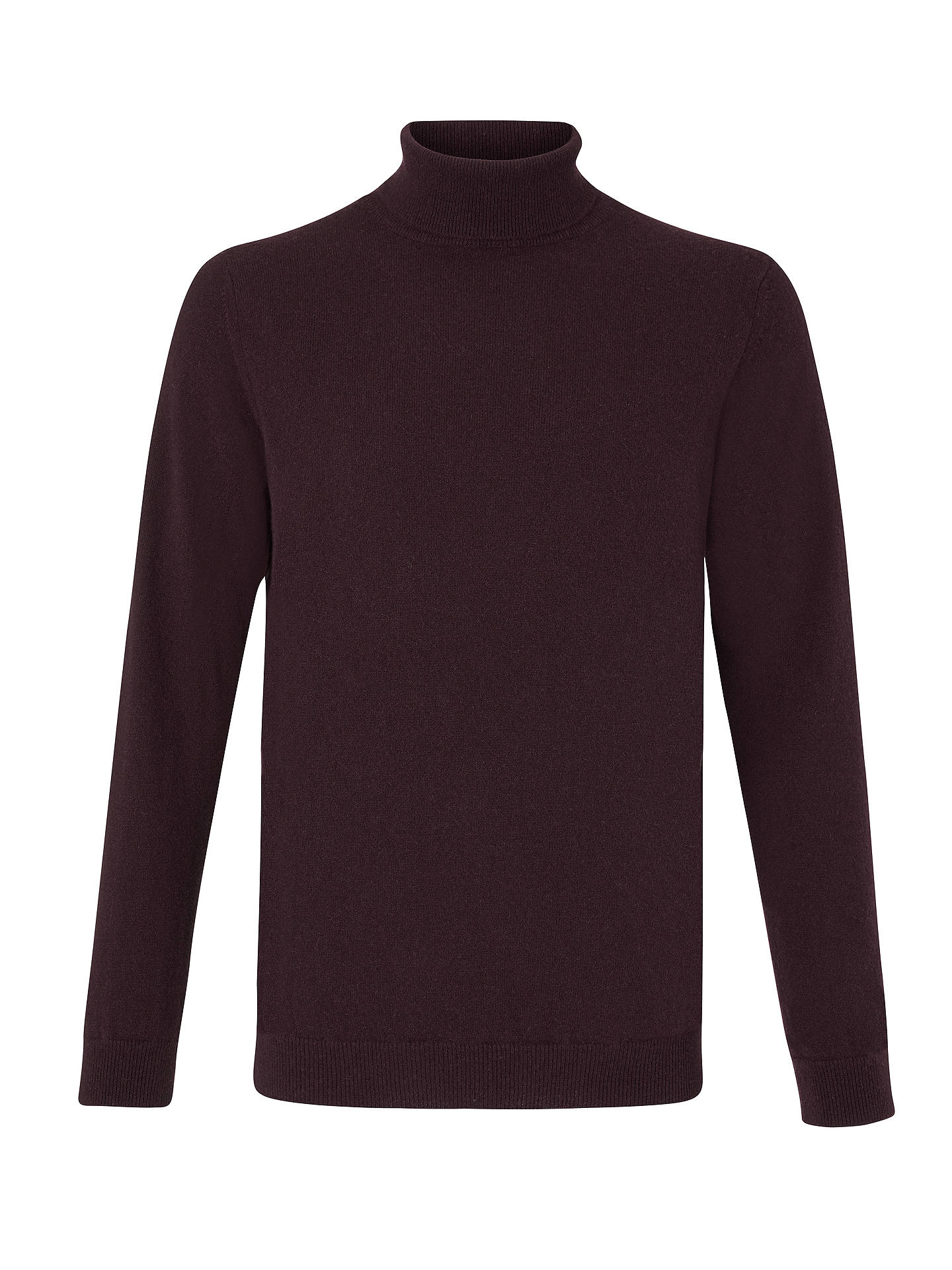 8bb2ac36737 John Lewis & Partners Italian Cashmere Roll Neck at John Lewis ...