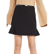 Buy Oasis Flippy Skirt, Black Online at johnlewis.com