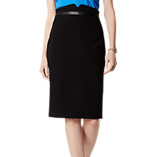 Buy Karen Millen Tailoring Collection Skirt, Black Online at johnlewis.com