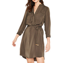 Buy Oasis Half Placket Shirt Dress Online at johnlewis.com