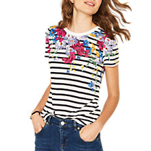 Buy Oasis Roccoco Stripe T-Shirt, Multi Online at johnlewis.com