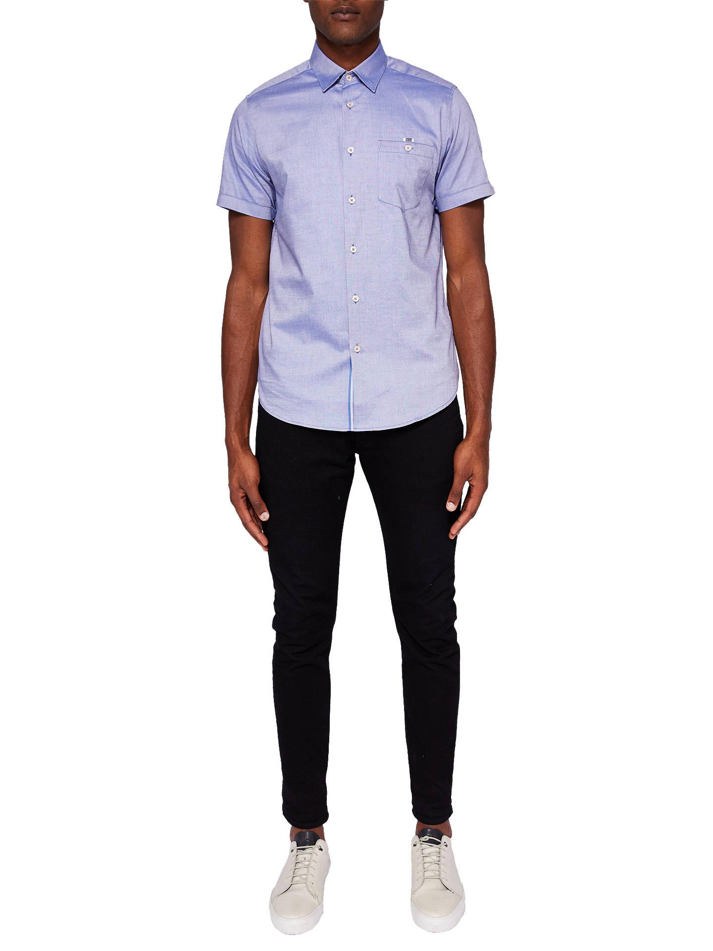 f6caa3774 Ted Baker Wallo Short Sleeve Pocket Shirt at John Lewis   Partners