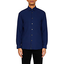 Buy Ted Baker Loretax Shirt, Dark Blue Online at johnlewis.com