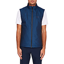 Buy Ted Baker Golf Mashie Gilet, Blue Online at johnlewis.com