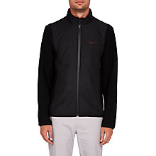 Buy Ted Baker Golf Firstee Jacket, Black Online at johnlewis.com