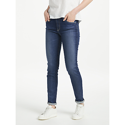 AG The Prima Mid Rise Skinny Jeans, 11 Years Journey