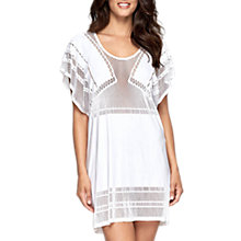 Buy JETS Parallels Batwing Kaftan, White Online at johnlewis.com